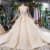 Jancember HTL789 luxury long train sexy lace simple princess wedding dress