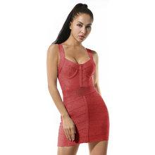 Новинка лета 2020, женское модное блестящее платье, Бандажное платье, сексуальное платье с открытой спиной, платье в стиле хип-хоп, вечерние пл...(Китай)