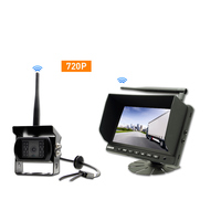 7 Inch Monitor No Interference 2.4G Digital Wireless Rear View Reversing Backup Camera System For Truck Car