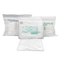 Cleanroom 100% polyester wiper