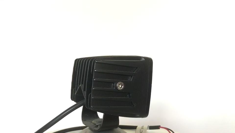 """3,2 """"дюймовый водонепроницаемый ПК объектив 20 Вт 10-30 DC удлиненные рабочие часы светодиодный рабочий свет"""