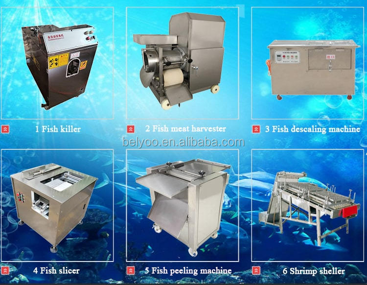 Factory Price Carp fish back splitting machines Automatic fish fillet cutting machine