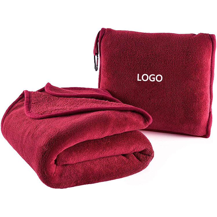 2 in 1 pillow blanket portable soft lightweight travel blanket with bag for airplane buy pillow blanket 2 in 1 travel blanket airplane travel