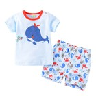 Breathable Toddlers Cloths Baby T-shirts Baby Pants Baby Clothing Sets Toddlers Cloths Wholesale