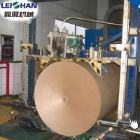 Fluting paper production line used recycle carton making machine