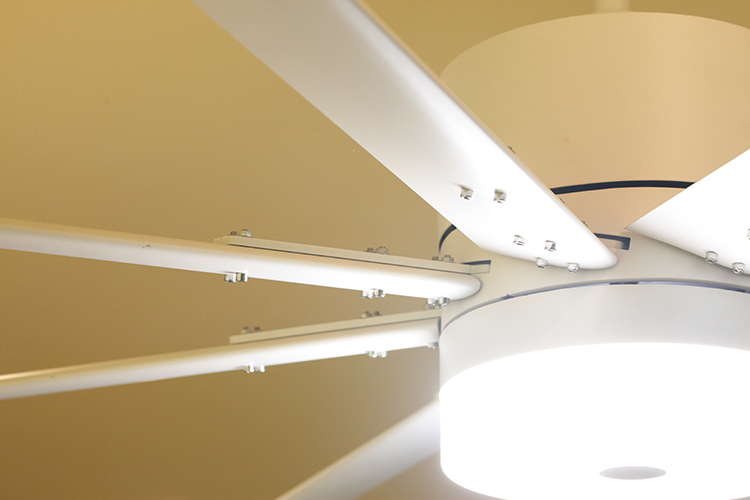 100 inch Big size Amazing huge New Design Aluminum blade DC motor Ceiling fan with lights