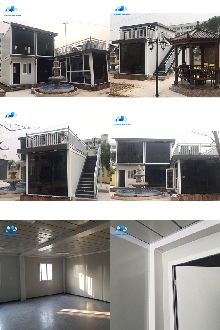 luxurious modular prefabricated container garden house homes