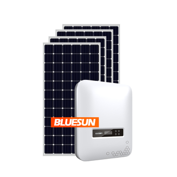Home Use Solar Energy Products Solar Panel System Home 5kw On Grid 5kw Solar Power System Price