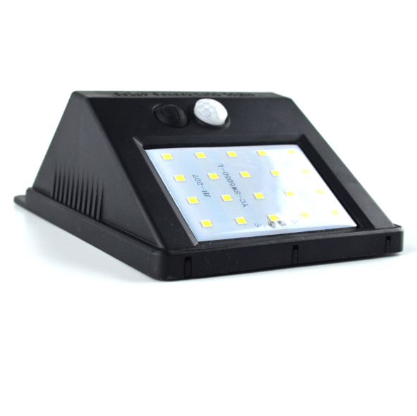Led wall washer licht im freien mit solar power