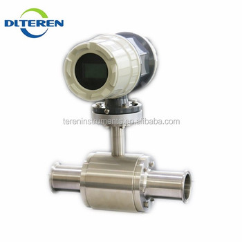 Elegant Appearance RS485 Electromagnetic Flow Meter Factory For Acid Resistant