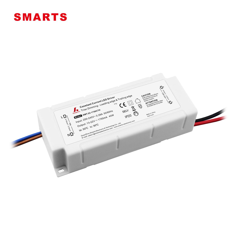 8W-40W LED Regulable Controlador de Alimentación Adaptador for Lámpara LED Panel