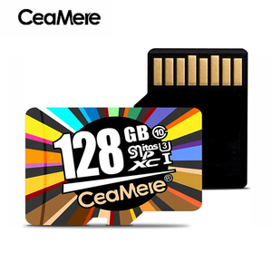 Highe Quality CeaMere Memory card 64GB 128GB 256GB C10 U3 USH-3 Taiwan Chip Mirco SD Card 8GB 16GB 32GB C10 USH-1 Flash Card
