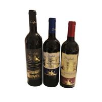 Hot Selling Spain Dry Red Wine with 0.88 Euro/Bottle Exwork