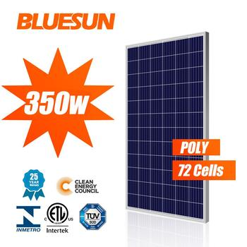 Best selling 5bb poly solar panel 48v 300w 320w 330w 350w canadian solar cs6x-305p