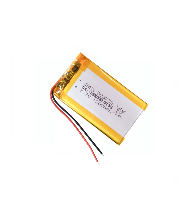 3.7V 1200mAh 503759 Lipo Li-Polymer Battery For Air cleaner