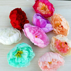 Factory direct selling high-end simulation peony head multicolor plastic silk flower wedding home decoration wholesale