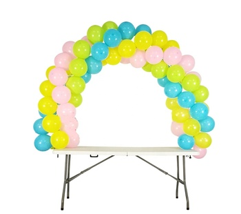 Balloon Arch Kit Adjustable Table Balloon  Stand for Different Table Sizes Wedding Birthday Balloon Arch Kit Stand