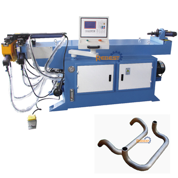 NC Hydraulic Pipe Tube Bending Machine with PLC Semi-automatic Control Bend Tube