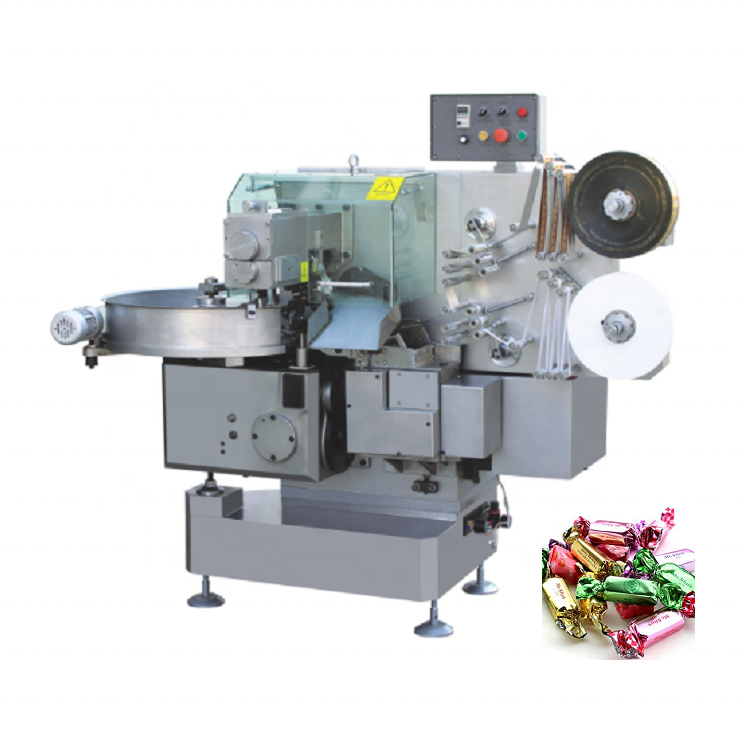 Automatic Chocolate <strong>Double</strong> Twist <strong>Machine</strong> Candy Twist Wrapping Packing <strong>Machine</strong>