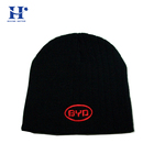 Blank hat skiing winter beanie hats knitted caps women hip-hop crochet winter hat cap sports team jacquard beanie hat with ball