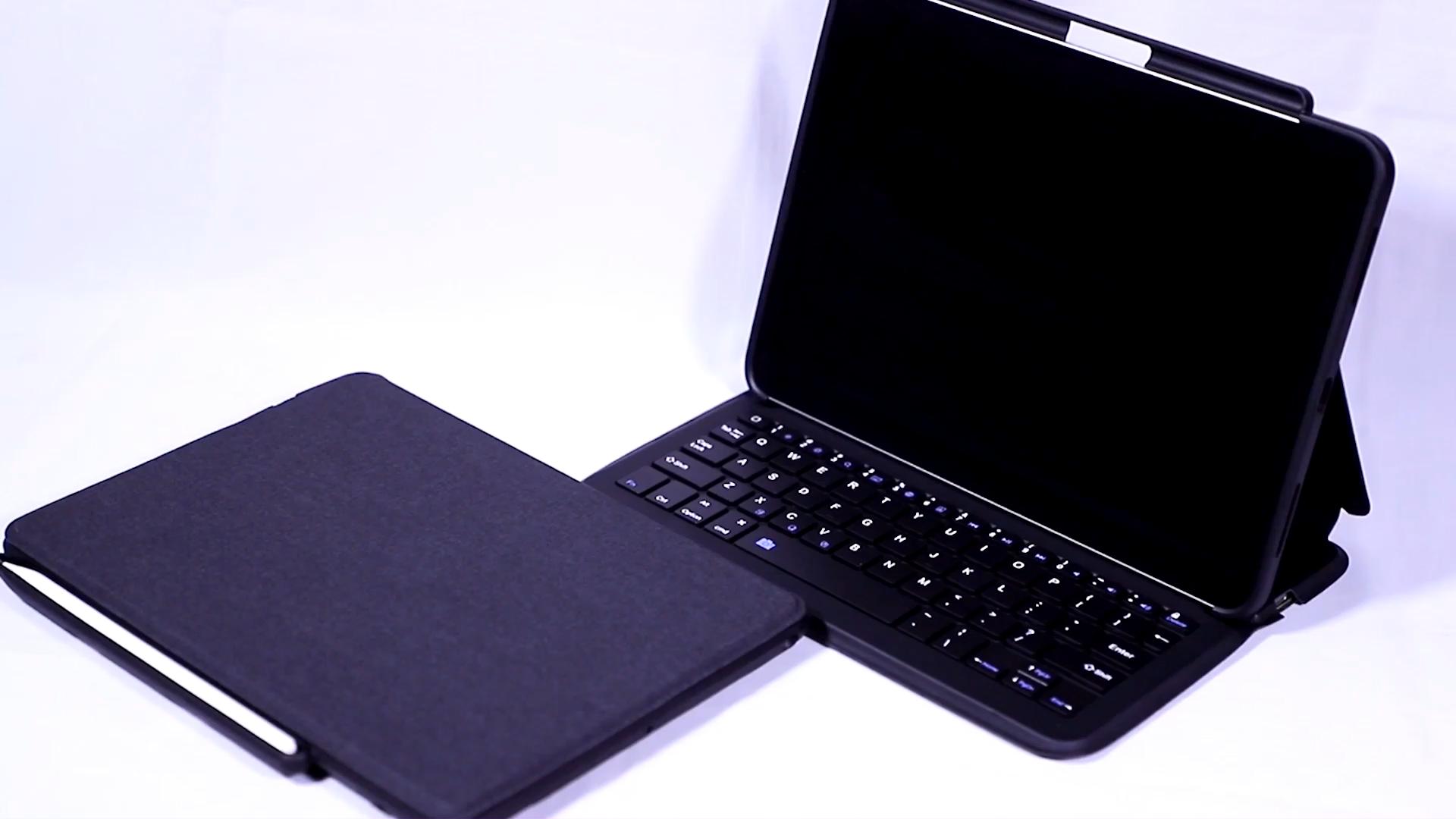 Bluetooth Tastatur Pro 12,9 2020 Fall Bleistift Halter Leder Schutzhülle Tablet Zubehör Abdeckung für iPad Tastatur fall