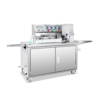 new fashionable stylish Moon cake encrusting and filling machine For Powder Material