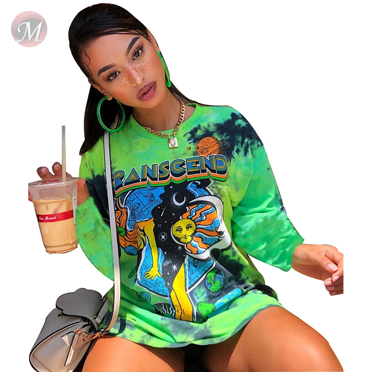 0043012 Fashionable Ladies Latest Design long sleeve Tops Manufacturer Custom Printing Girls' Tee Summer Women Plain T Shirt