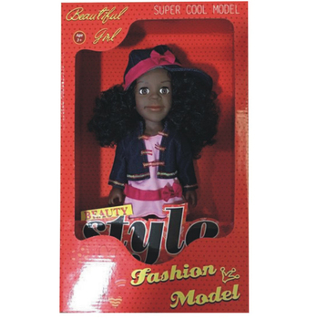 Beautiful and lovely 14 inch American Girl Vinyl Doll Model with High Quality