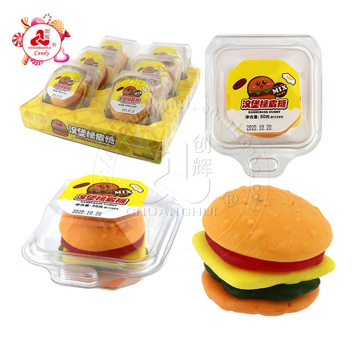 Гамбургер в форме