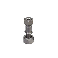 trailer wheel hub bolt front wheel assembly for truck