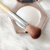 Low Cost Makeup Beginner Wooden Handle Blush Highlighter Makeup Brush