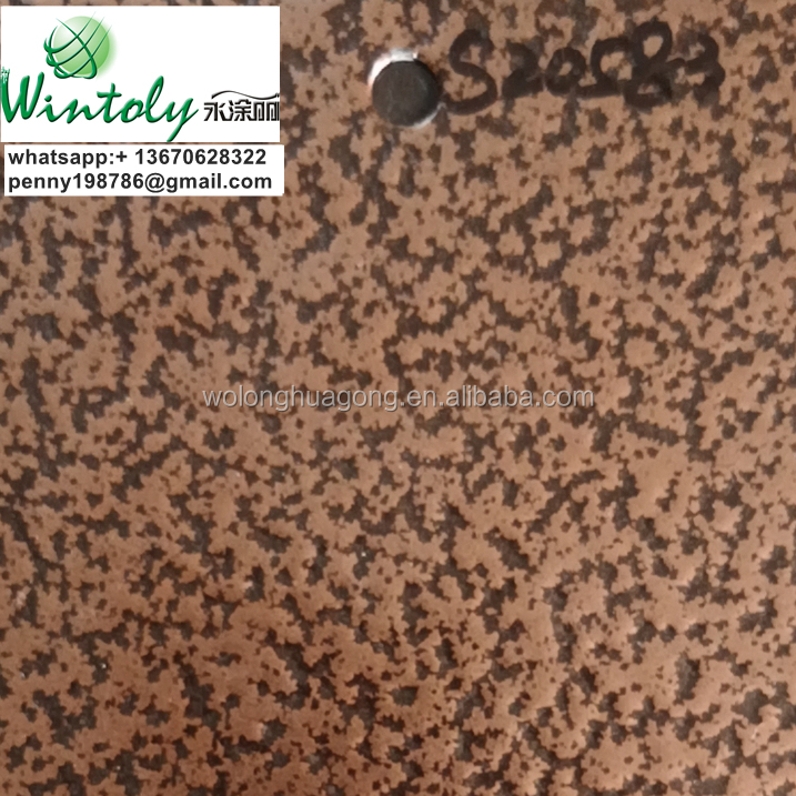 Wintoly good quality bonding metal antique copper polyester TGIC-FREE powder coating
