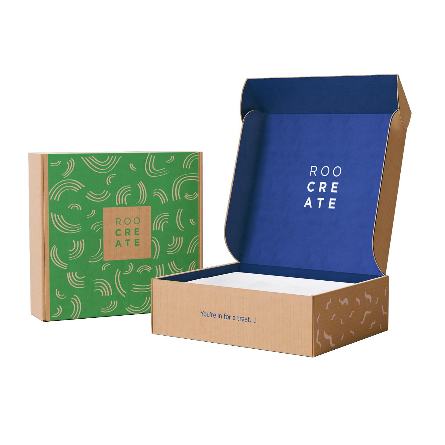 Дешевые Заказные почтовые цветные напечатанные гофрированные бумажные почтовые картонные подписные коробки картонные упаковочные коробки