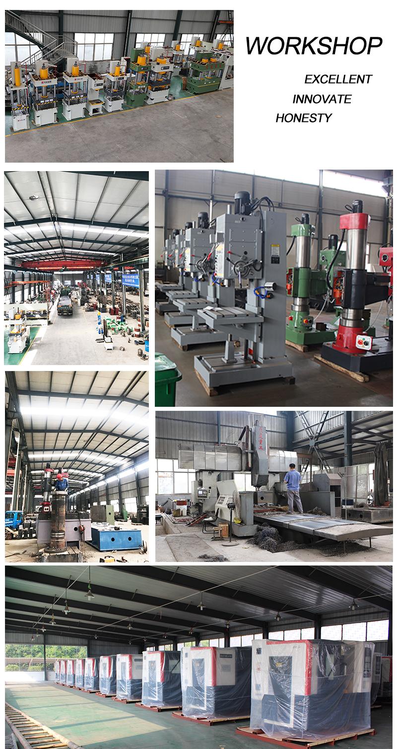 200 ton Deep drawing machine Four column hydraulic press