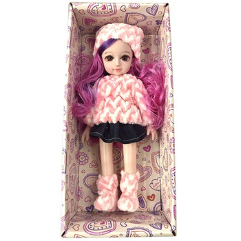 2020 new smart beautiful fashion 10 inch soft plastic doll for girl baby toys with fashion wearing