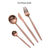 Volle Rose Gold Farbe Set