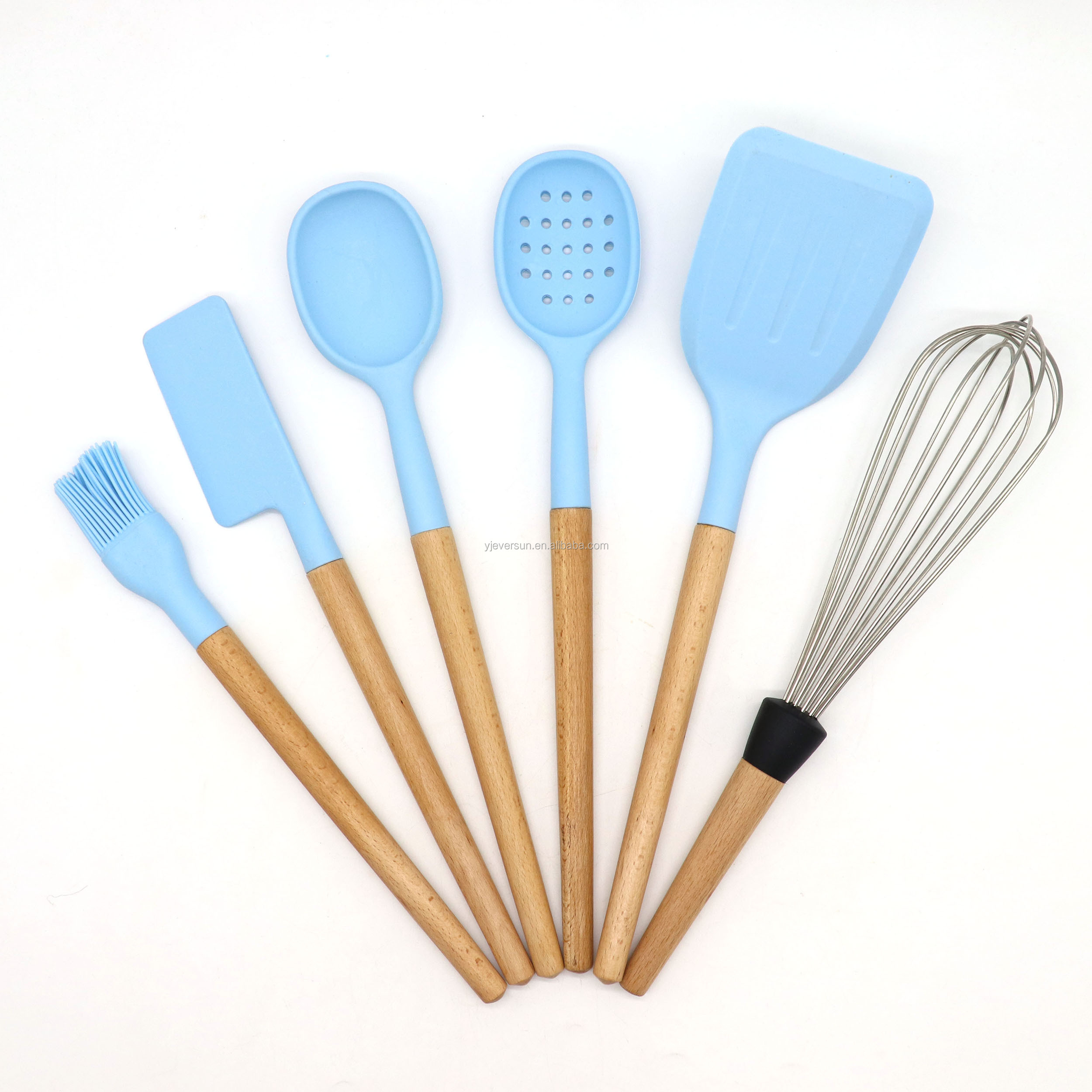 Single 35.5cm Wooden Spoon 14inch Wooden Utensils Kitchen Utensils