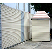 Easy install DIY Pvc vinyl siding Outdoor Exterior Wall Siding Panel