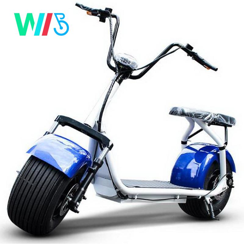 1000W/1500W scooter électrique/2000w électro alimenté par batterie moto/Citycoco