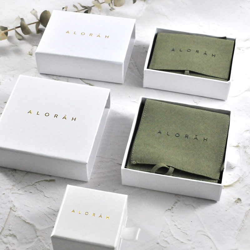 China Supply Competitive Price Wholesale Drawer Paper Jewelry Box Custom Logo Printed