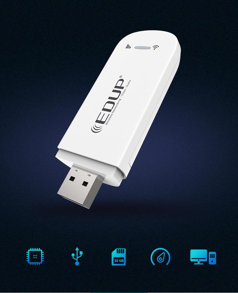 EDUP 150Mbps WiFi 4G hotspot Router pocket Router