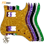 Pleroo Guitar accessories 11 Screw Holes standard and Contemporary Stratocaster ST HH style guitar pickguards for fender Guitar