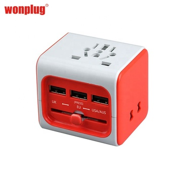 China manufacturer travel Electrical international travel all in one multi socket female plug adapter