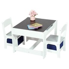 Furniture Kids Custom Cheap Small Wooden Furniture Kids Chair And Table Set Study Table Kids