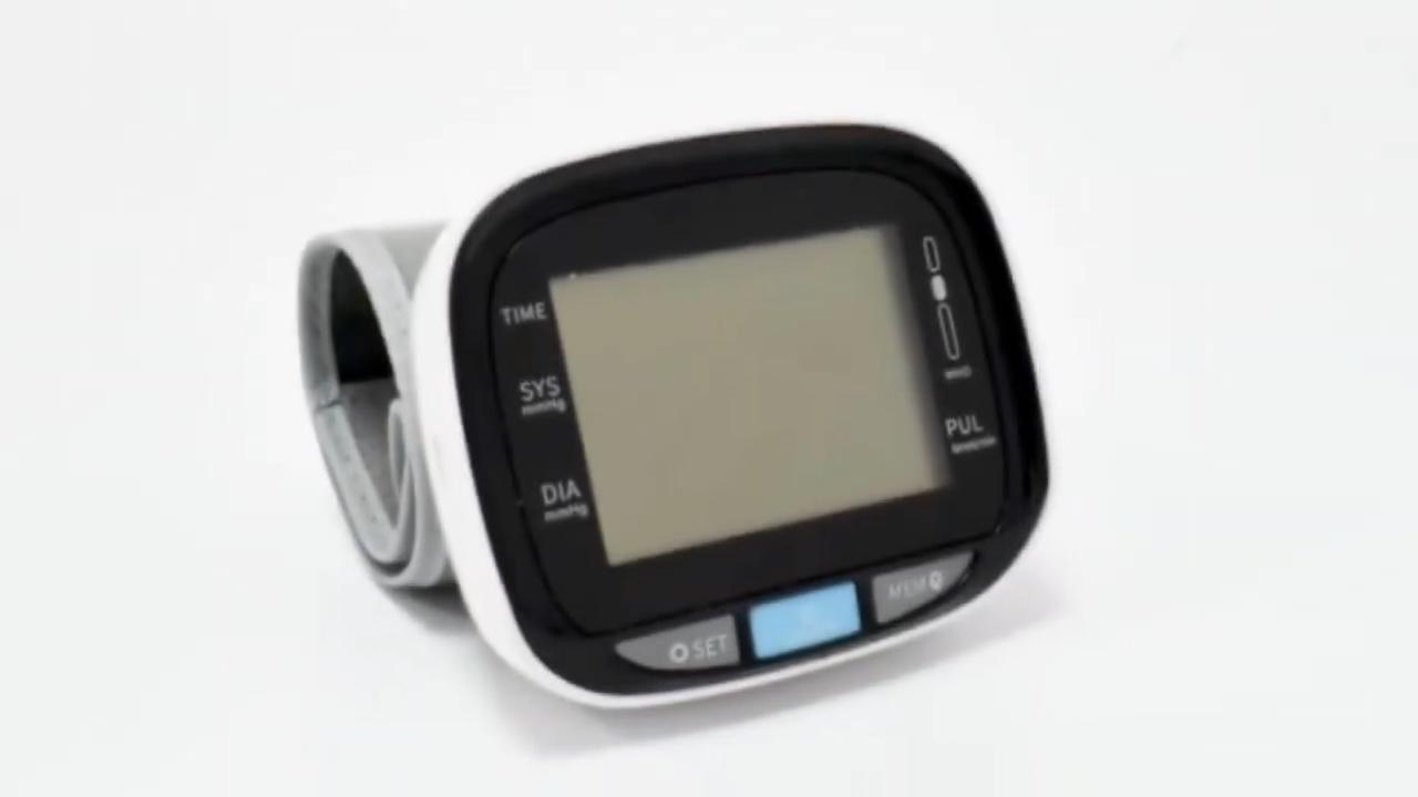 Waterproof Tensiometer Digital Upper Arm Blood Pressure Monitor