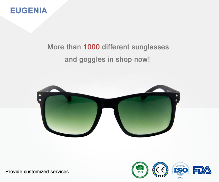 EUGENIA 2020 custom logo mens vintage designer retro eyewear fashion brand polarized oem sunglasses