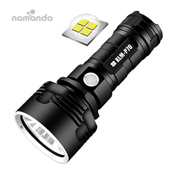 Powerful LED Flashlight L2 XHP50 Tactical Torch USB Rechargeable Waterproof Lamp Ultra Bright Lantern Camping
