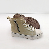 Canvas boots women sneaker pvc fashion sole