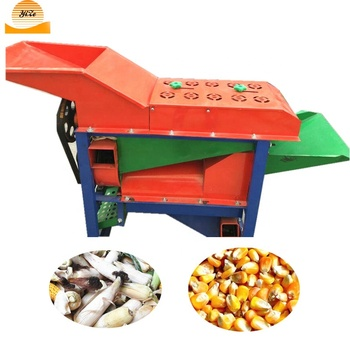 Prices of corn sheller philippines mechanical corn peeler and thresher fresh corn peeling threshing machine