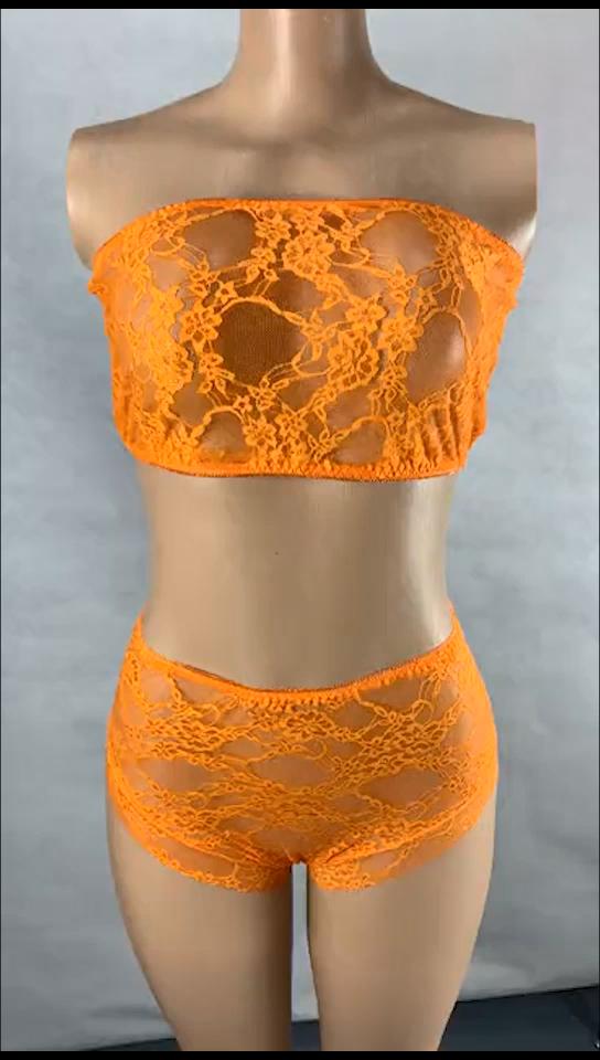 Bán buôn Chất lượng cao đồ lót sexy hot ren trong suốt Womens sexy đồ lót 2 mảnh thiết lập